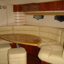 Sellerie de bateau sur-mesure en cuir