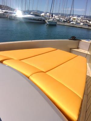 Sellerie bateau : nos réalisations intérieures et extérieures