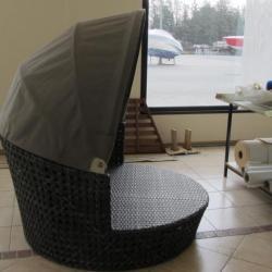 Housse ombrage fauteuil confort extérieur sur-mesure
