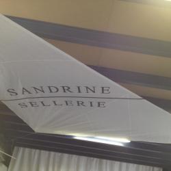Voile d'ombrage personnalisé Sandrine Sellerie à grimaud (83)