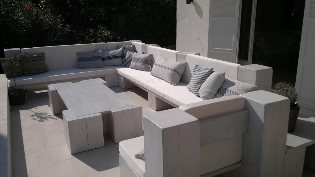 Coussin extérieur pour terrasse - achat Décoration extérieur St ...