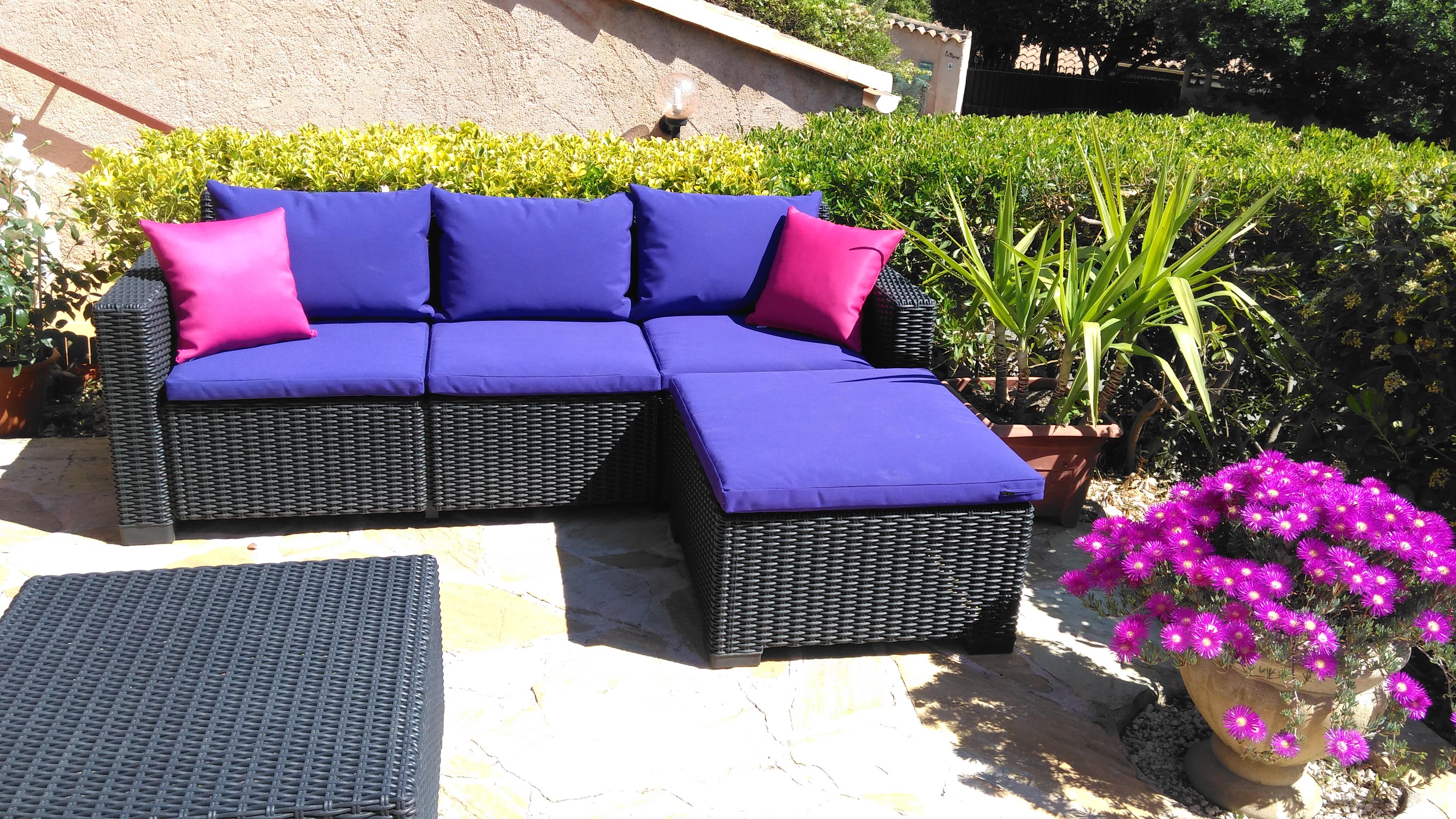 Grand Coussin Pour Exterieur coussin extérieur pour terrasse - achat décoration extérieur